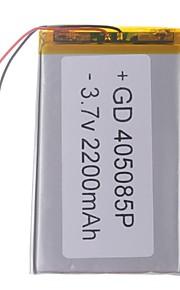 "Universele vervanging van 3.7V 2200mAh Li-polymer batterij voor 7 ~ 10 ""Macbook Samsung Acer Sony Apple Tablet PC (4 * 50 * 85)"