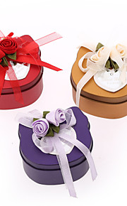 12 Piece/Set Favor Holder - Creative Iron(nickel plated) Favor Boxes/Favor Tins and Pails Non-personalised