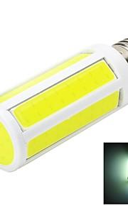 marsing® l23 e27 7w 600lm 6500k 7-LED COB blanche lumière de la lampe de maïs blanc / chaud - blanc + jaune (AC 220 ~ 240V)