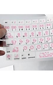 """coosbo® colorato silicone della pelle della copertura della tastiera per 13,3 """", 15,4"""", 17 """"pro macbook air / retina (colori assortiti)"""