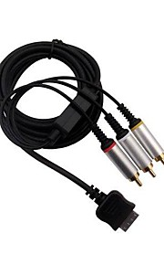 Composite AV Audio Video Cable RCA Cord for PSP GO