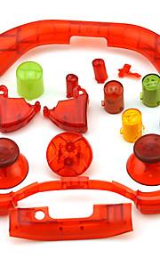 Xbox 360 controller udskiftning sæt knapper thumbsticks d-pad rt lt rb lb