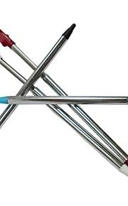 4 x verstelbare metalen spel contact stylus pen voor nintendo 3dsll / xl console