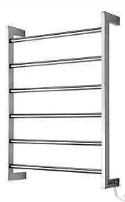60w håndklevarmer 304 # rustfritt stål speil polert tørkestativ veggfeste