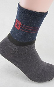 skymoto®5ペア/ロットメンズ厚手の綿の靴下(色を混ぜる)