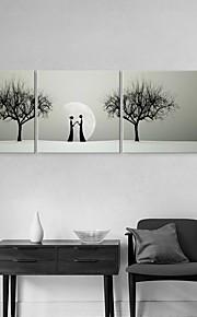 art de toile tendue datant au clair de lune jeu de peinture décorative de 3