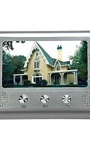 """Visione del monitor Kit citofono campanello campanello citofono telecamera notte videocitofono 7 """""""