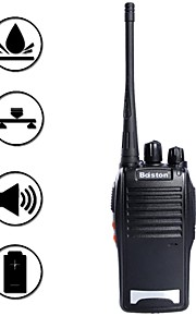 baiston BST-688 5W 16-kanals 400.00-470.00mhz walkie talkie - sort
