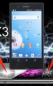 ultimata stötdämpning skärmskydd till Sony Xperia z l36h (3 st)
