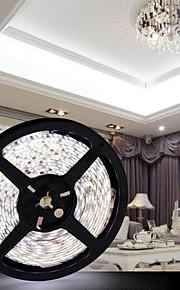 JZG ™ 5m 300x5050 smd hvitt lys LED strip lampe (DC 12V)