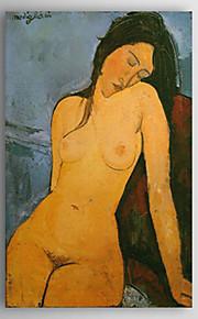 Peint à la main Célèbre Un Panneau Toile Peinture à l'huile Hang-peint For Décoration d'intérieur