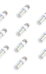 Ampoules Maïs LED Blanc Chaud / Blanc Froid 10 pièces T E26/E27 5W 36 SMD 5730 500 LM AC 100-240 V