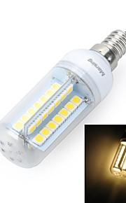 marsing® e14 dessin de la croix 10w 900lm 56 x SMD 5050 LED cool lampe chaude / blanc ampoule de maïs - (220V)