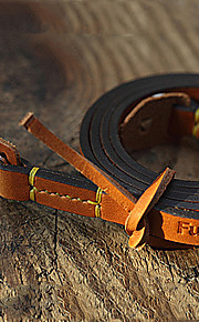 Handmade Italy Small Leather Camera Strap - Simple Type Of A7R Leica Fuji