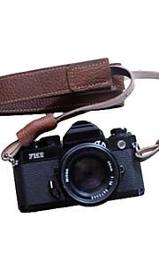 funper dslr til SLR kamera rem håndlavet retro brun