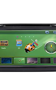 8-inch tft-scherm 2 din in-dash auto dvd-speler voor volkswagen met BT, navigatie-ready gps, rds, rl-521