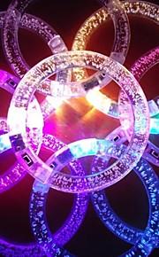 RGB-LED-blinkendes Armband Design Acryl-Party LED-Licht-Stick (zufällige Farbe x1pcs)