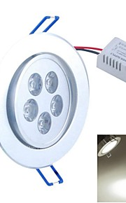 SENCART 5 W 5PCS COB 500-550 LM Natural White Recessed Retrofit Decorative Ceiling Lights AC 85-265 V