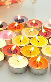 Round Small Candle One Piece(Random Colors)
