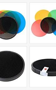 GODOX kleur gel-pak&reflector rooster ad-s11 voor GODOX wistro serie flitser Speedlite