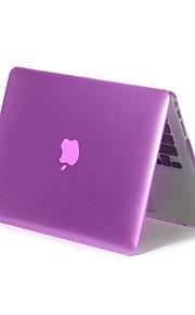 מקרה צבע אחיד מתקפל קשיח מלא גוף לאינץ '15.4 ה- MacBook Pro (צבעים שונים)