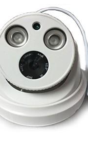 2.0 megapixel cctv ip h.264 dual stream 4 millimetri giorno / notte della cupola impermeabile telecamera IP e supportare rilevazione mobile