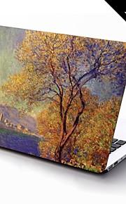 MacBook Herbst für Ölgemälde Plastik Stoff