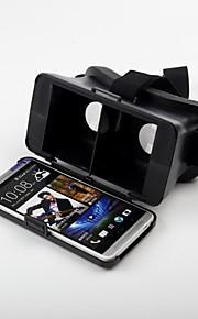 beboncool cabeza de cartón montar versión de realidad virtual gafas 3d de vídeo de plástico para un htc