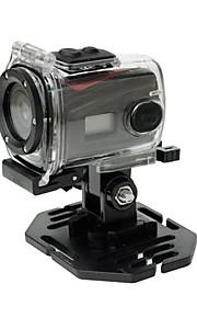 rig hd sport kamera 720p HD 30 fps 120 ° vidvinkelobjektiv support 3 meter vandtæt