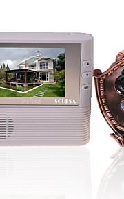 "souesa 2,8 ""LCD-skærm digital døren kighul beskueren hjem sikkerhed kamera skjold dørklokken"