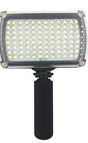 hy96 førte video lys 9W 850lm 5600K / 3200K dæmpes til DSLR kamera video lys med LED lys håndtag