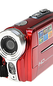 HD 720p 5MP 16x zoom digitale videocamera camcorder dv rood