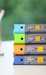 תיקיית נייר אופנה העסקית A4 60 דפים קוריאני (צבע אקראי)