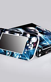 Wii U konsol beskyttende mærkat dække huden controller hud mærkat
