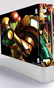 Wii konsol beskyttende mærkat cover skin controller hud mærkat