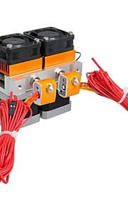 Geeetech MK8(12V) Dual-Head All Metal  Extruder for 3D Printer