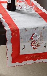 100% полиэстер Санта Клаус шаблон многоцелевой скатерть с размером 35x76cm (13x29 дюймов)