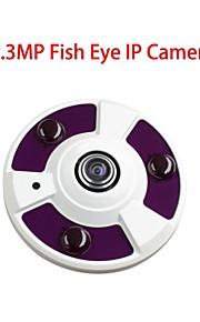 Dag Nacht/Bewegingsdetectie/Dual Stream/Remote Access/IR-cut - Binnen Koepel - IP Camera