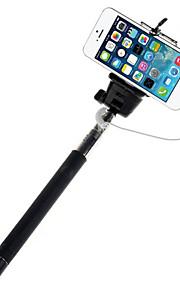 mowto Z01 håndholdte Selfie stang monopod til GoPro hero&lukker til iOS / Android mobiltelefoner-sort