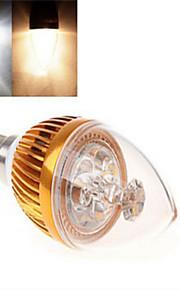 1 stk. dingyao E14 9 W Høyeffekts-LED 300 LM Varm hvit/Kjølig hvit Lysestakepære AC 85-265 V