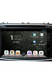 """ren quad core android 4.2 hd 1024 * 600 7 """"kapacitiv skærm bil 2DIN dvd til fokus med gps + wifi + 3g indbygget"""