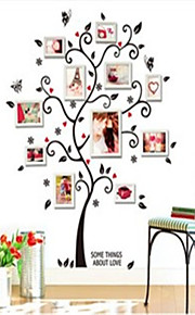 Wall Stickers Wall Decals , Happiness Frame PVC Wall Stickers