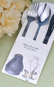Serving Sets Wedding Cake Knife Personalized  Supplies  Bags Set of 10----Go together