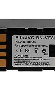 3000mAh camera batterij pack voor jvc bn-vf823