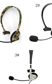 headset hoofdtelefoon met microfoon compatibel met de Xbox 360 draadloze controller