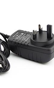 yanse® 12V2A AC / DC adapter verenigd koninkrijk standaard drie meter transformator uk