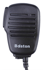 baiston bst-008 håndholdt mikrofon til walkie talkie - sort