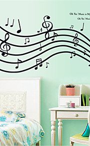 Wall Stickers Wall Decals, Wonderful Notes PVC Wall Stickers