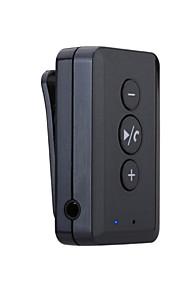 draadloze bluetooth handsfree bellen stereo hoofdtelefoon clip adapter / ontvanger voor telefoon