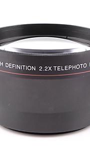 67mm 2.2x telekonverter objektiv monteret generelle formål for canon nikon kaliber 67mm kamera kan bruges